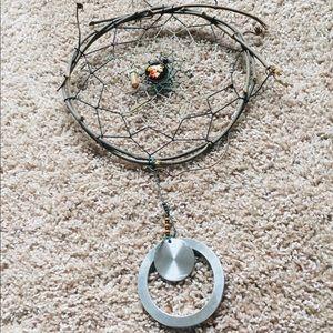 Handmade Natural Grapevine Dreamcatcher